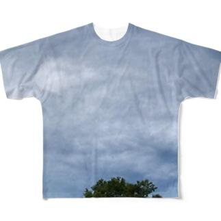 梅雨空 Full graphic T-shirts
