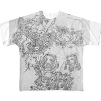 素描2 Full graphic T-shirts