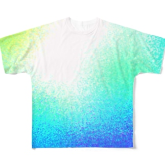 なつのいろ。夏色。なついろ。 Full graphic T-shirts