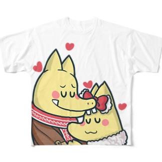 ピカロンのピカロン Full graphic T-shirts