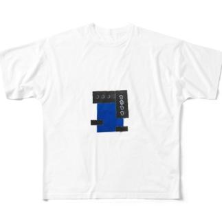 ブルーリーゼント Full graphic T-shirts