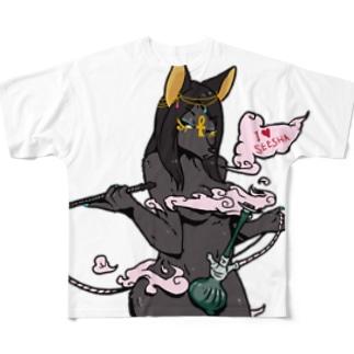 今夜はシーシャ Full graphic T-shirts