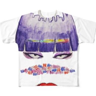 さよT Full graphic T-shirts