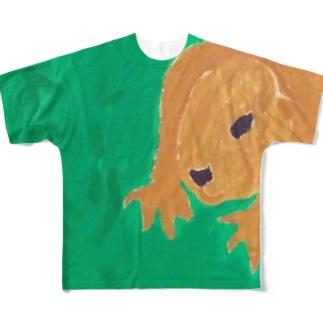 プレーリードッグ Full graphic T-shirts