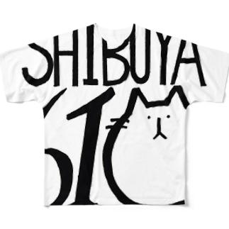 デザインサイズ間違えちゃった Full graphic T-shirts