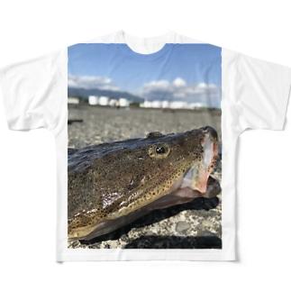 マゴチ Full graphic T-shirts