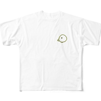 ひよこ Full graphic T-shirts