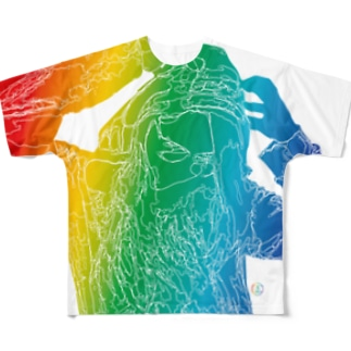 DoD_Maki_FullT2018Summer Full graphic T-shirts