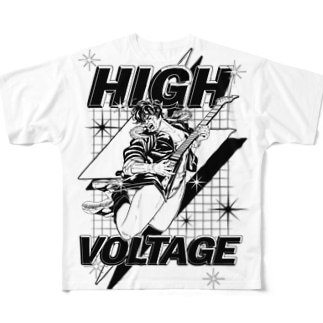 HIGH VOLTAGE  Tシャツ Full graphic T-shirts