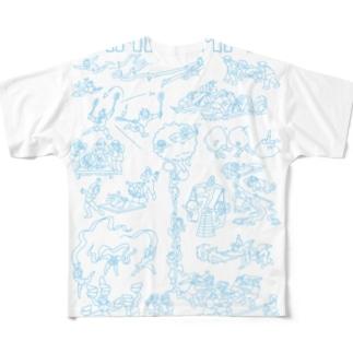 BAMILYMPIC フルグラフィックTシャツ