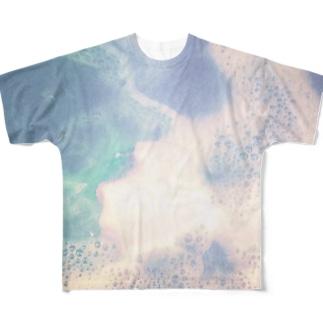 12時のアブク Full graphic T-shirts