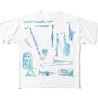 gakki Full graphic T-shirts