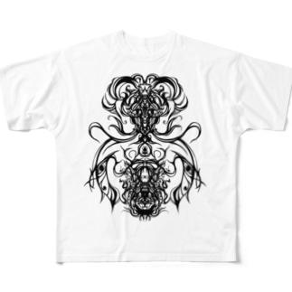 デビル Full graphic T-shirts