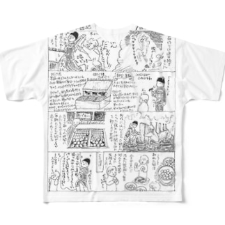 巣箱できました! Full graphic T-shirts