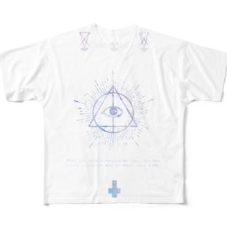 真理 Full graphic T-shirts