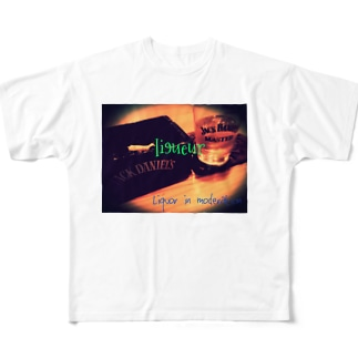 Liquor in moderation Full graphic T-shirts
