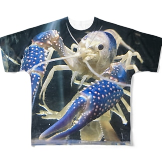 ザリガニ! Full graphic T-shirts