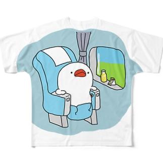 旅する文鳥 Full graphic T-shirts