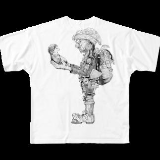 其土の人 Full graphic T-shirts