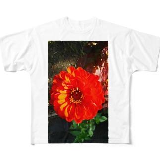 元気色 Full graphic T-shirts