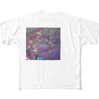 飴の包み紙 Full graphic T-shirts