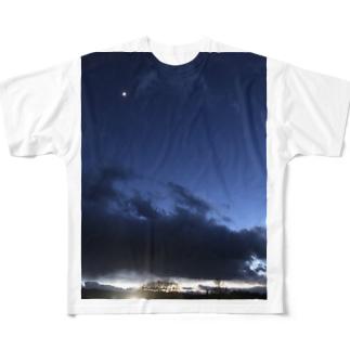 たまたま取れた絶景シリーズ Full graphic T-shirts