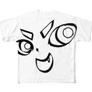 TarCoon☆FaCe フルグラフィックTシャツ