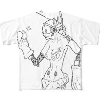 Usamimi Full graphic T-shirts
