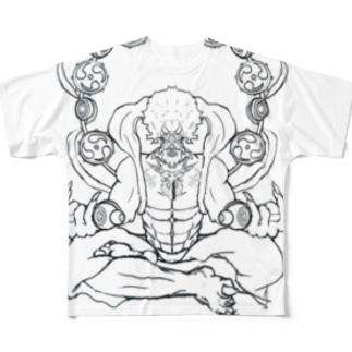 Raijin Full graphic T-shirts