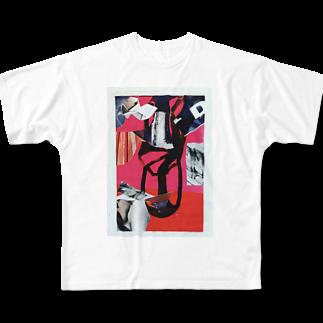 chisacollageのsmile Full graphic T-shirts