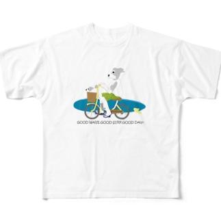 チャリサーが行く! Full graphic T-shirts