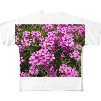 野の花の可憐さ・・・ Full graphic T-shirts