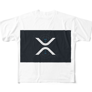 XRP  Full graphic T-shirts