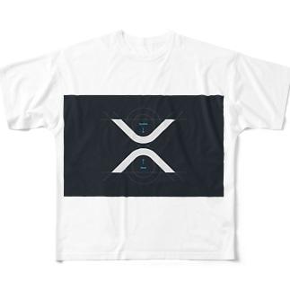 XRP  Full graphic T-shirts