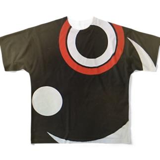 にっこりニコちゃん Full graphic T-shirts