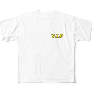 V.I.P Full graphic T-shirts