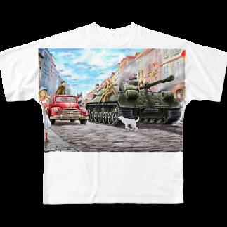 ギギギガガガのIS-3重戦車 Full graphic T-shirts