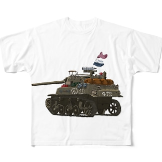 M8A1 戦車 Full graphic T-shirts