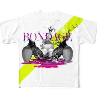 BONDAGE Full graphic T-shirts