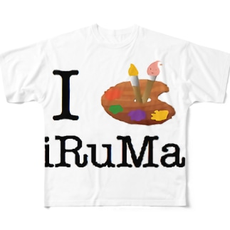 iArtiRuMa Full graphic T-shirts