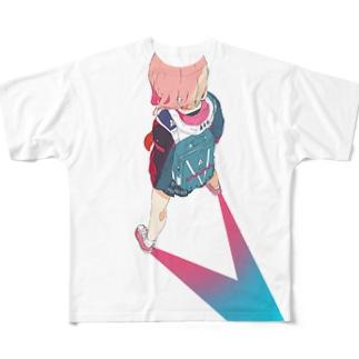 V(仮題) Full graphic T-shirts
