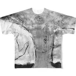 ファンタルファンタルア Full graphic T-shirts