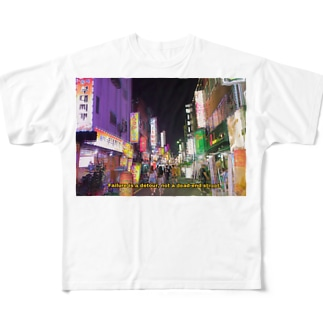 韓国釜山 Full graphic T-shirts