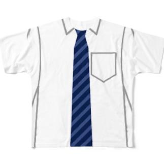 ネクタイt Full graphic T-shirts