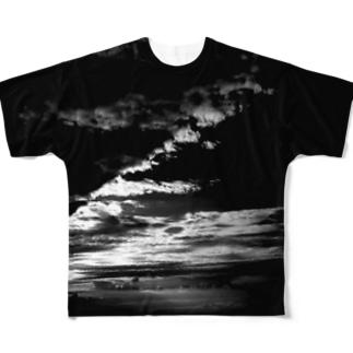 B_M_B LIGHT AND SHADOW Full graphic T-shirts