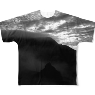 b_m_b  mother mountain Full graphic T-shirts