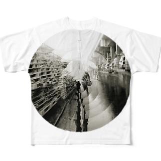 川崎酸性雨 Full graphic T-shirts