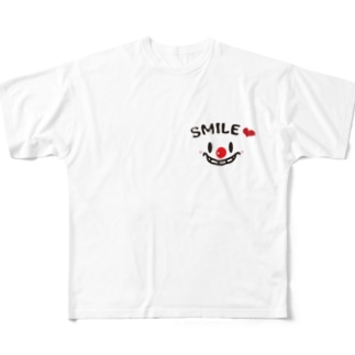 smileグッズ Full graphic T-shirts