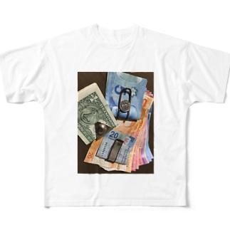 MoneycClipMoney Full graphic T-shirts