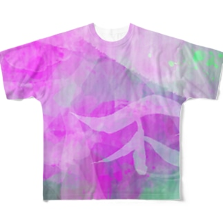 不-飛沫- Full graphic T-shirts